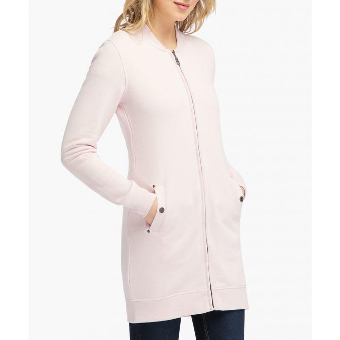 Image for Pink melange jumper