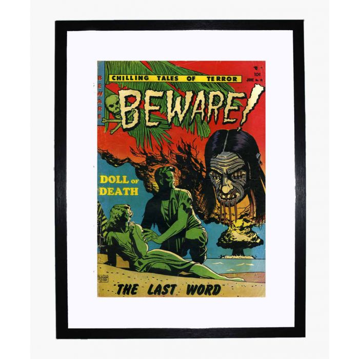 Image for Beware 10 framed print