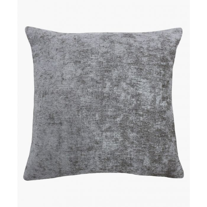 Image for Hampton grey textured cushion