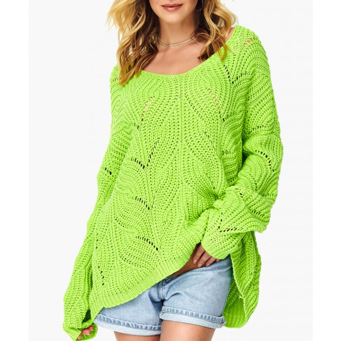 Image for Lime knitted jumper
