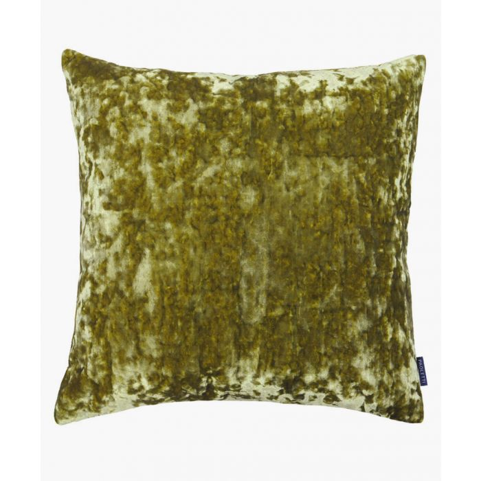 Image for Roma olive textured cushion