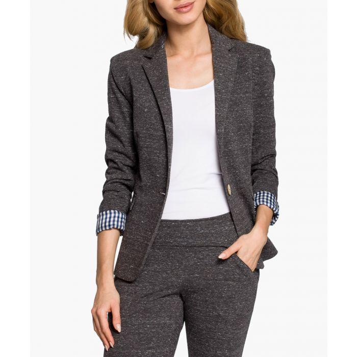 Image for Grey Cotton Blend Jacket