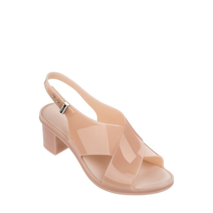 Image for JW Jamie dusty pink cross mules