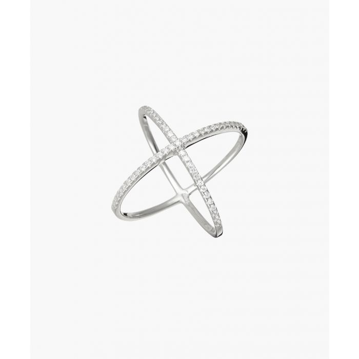 Image for Atom silver-plated ring