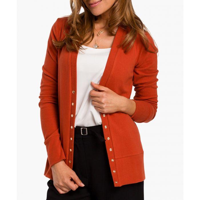 Image for Ginger cotton blend cardigan