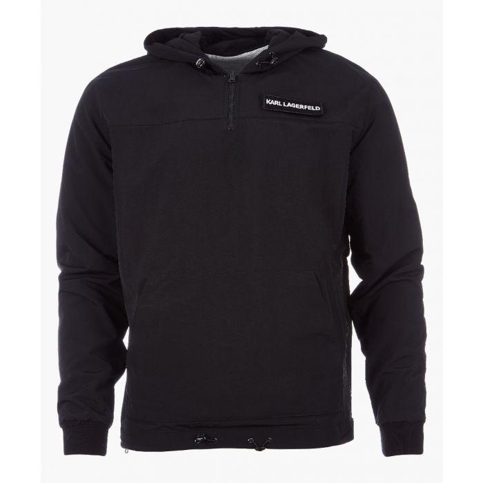 Image for black logo hoodie