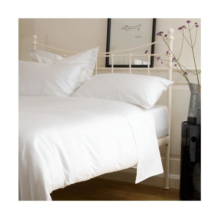 Image for 400 Thread Count Duvet Cover - White