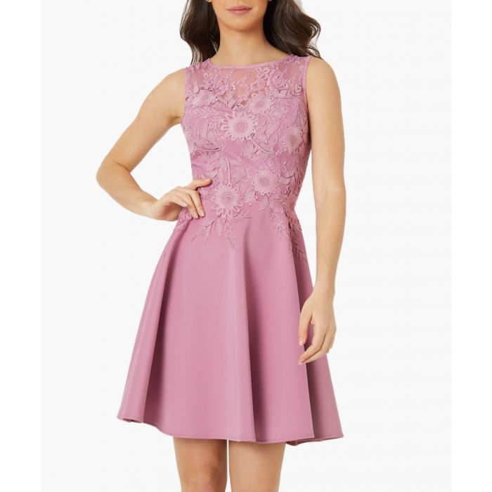 Image for Pink lace dress