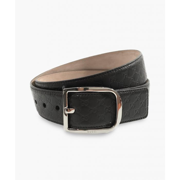 Image for Gucci Microguccissima leather belt Belts