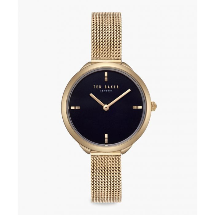 Image for Elana gold-tone stainless steel watch