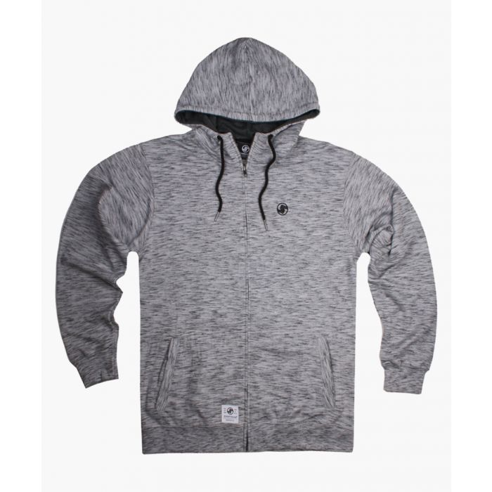 Image for Grey zip-up hoodie