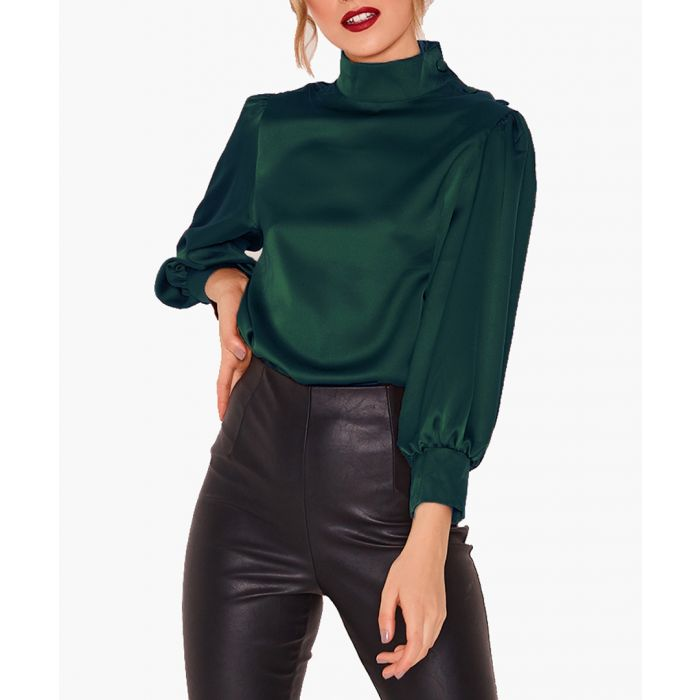 Image for Lou satin blouse