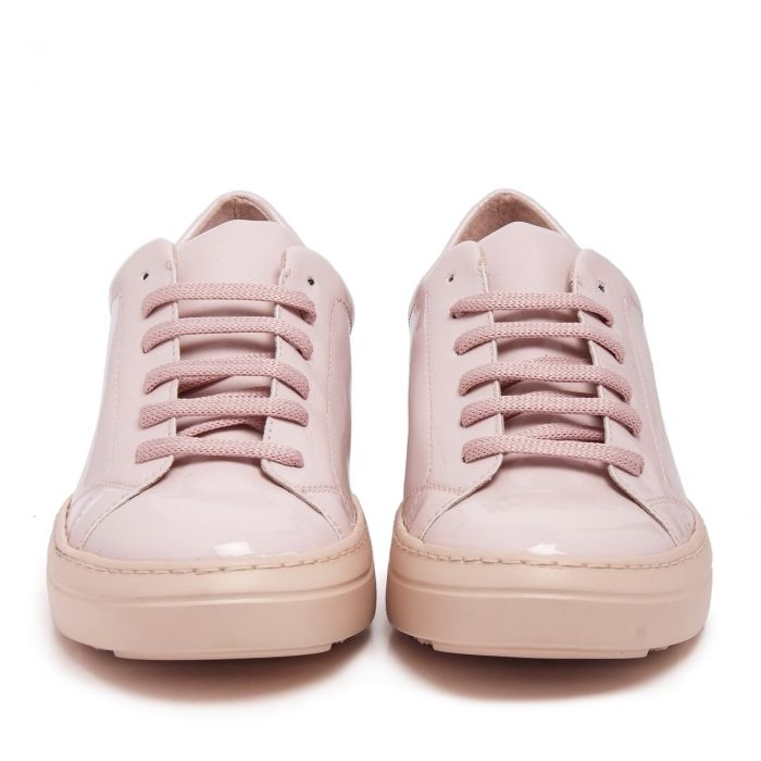 Image for Womens pink patent leather sneakers