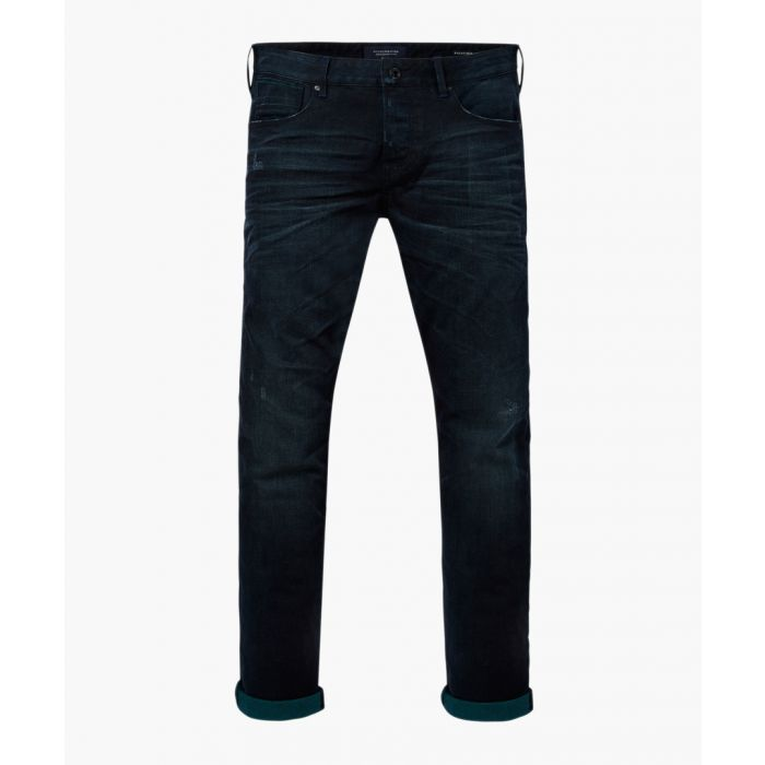 Image for Dark wash cotton blend jeans