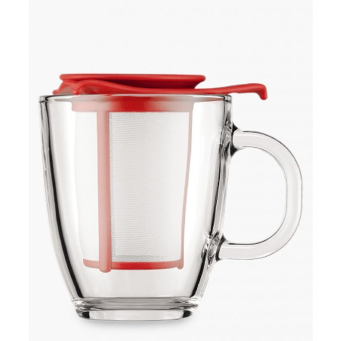 Image for Mug and tea strainer 12 oz