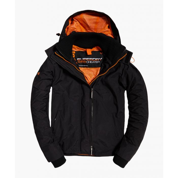 Image for SuperdryHOODED TECHNICAL POP ZIP WINDCHEATER