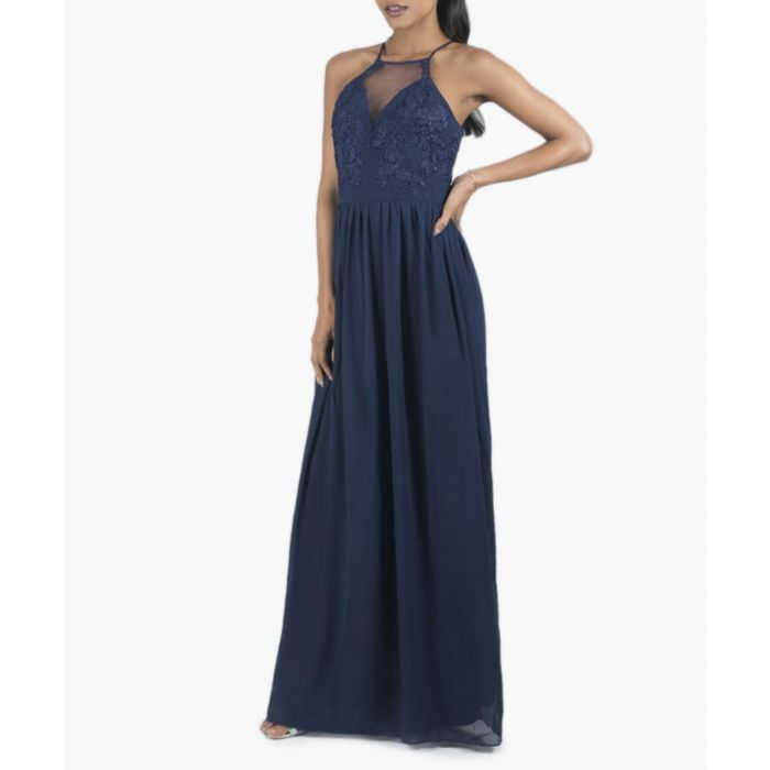 Image for Linlee navy maxi dress
