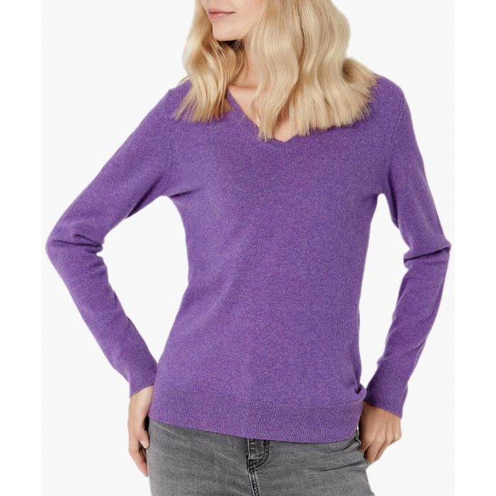 Image for Lilac pure cashmere jumper