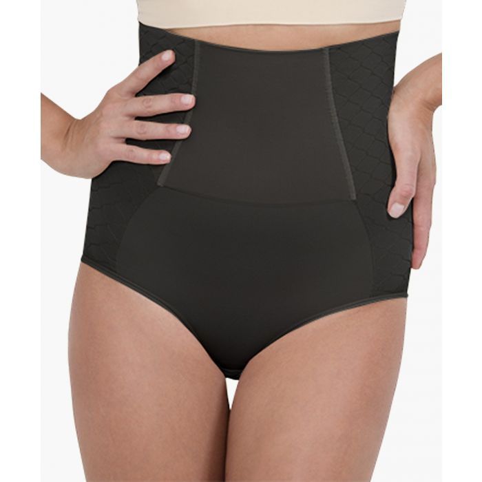 Image for Black high-compression corset briefs