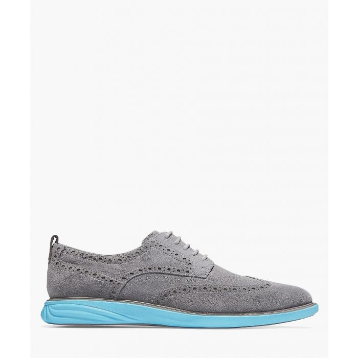 Image for Mens grey Oxford shoes
