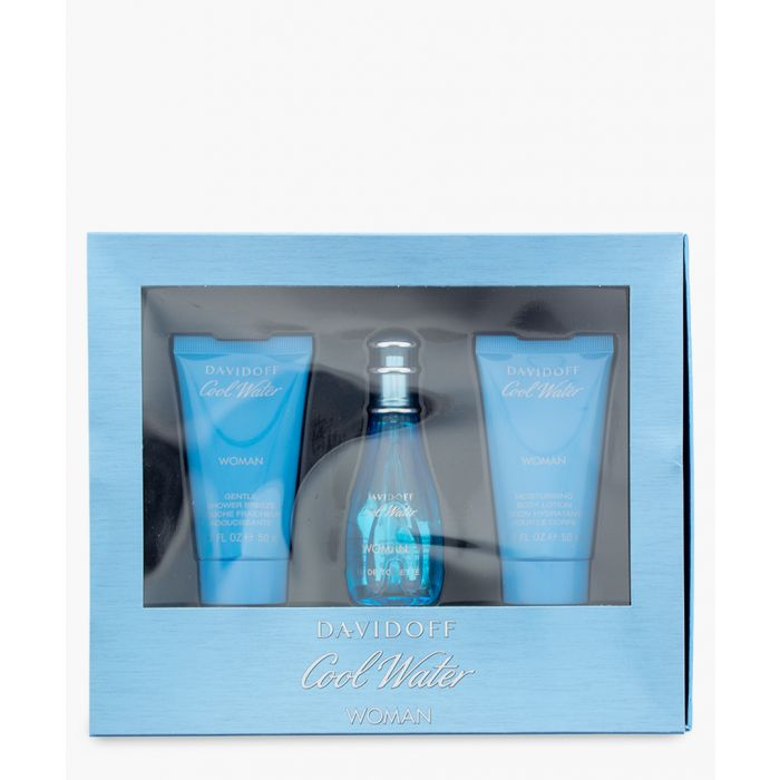 Image for Cool Water F eau de toilette body lotion and shower gel set