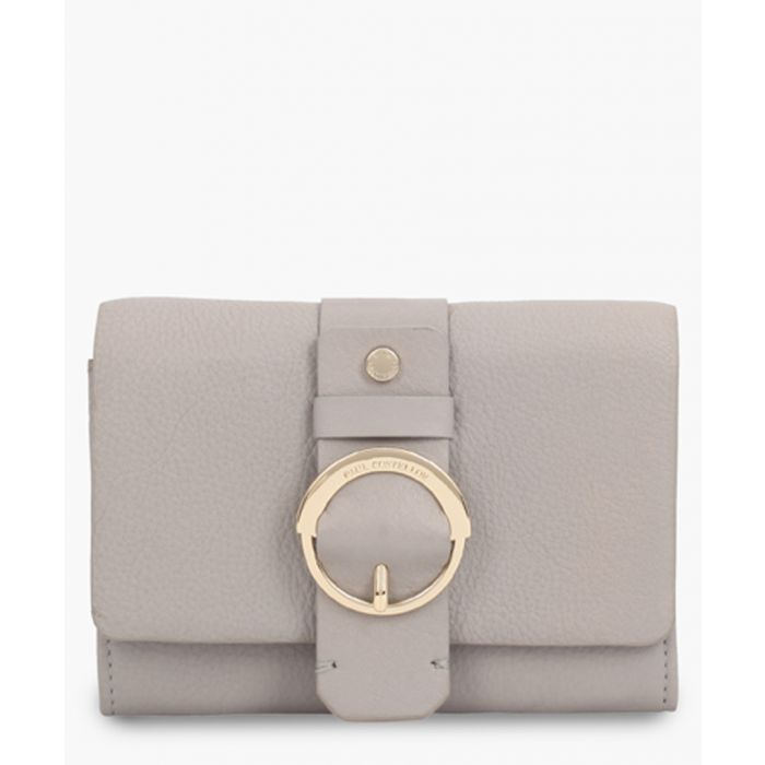 Image for Hurou white leather purse
