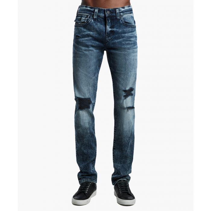 Image for True Religion Jeans GKIM WORN JADED BLUE