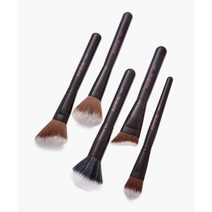 Image for 5pc Glamour Status black face brushes