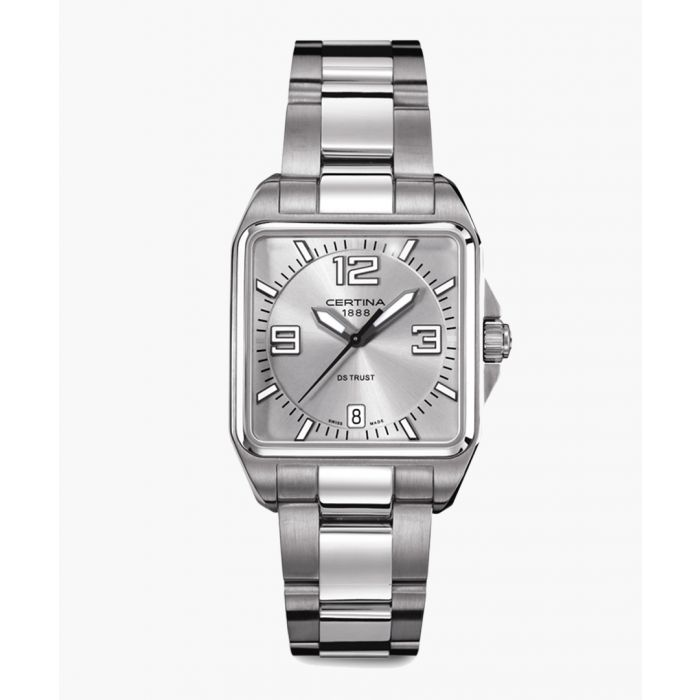 Image for DS Trust silver-tone steel watch