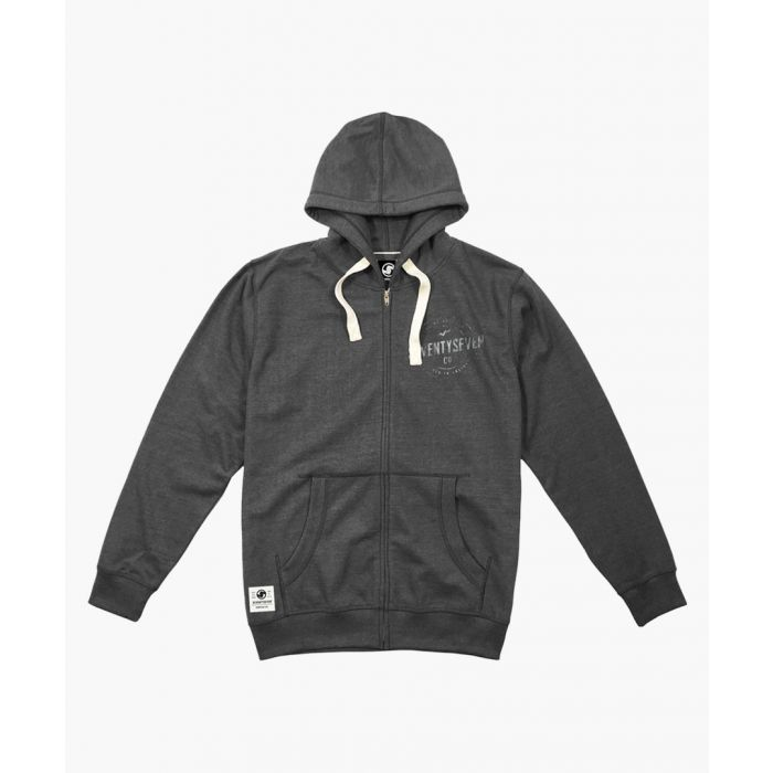 Image for Multi-coloured zip-up hoodie