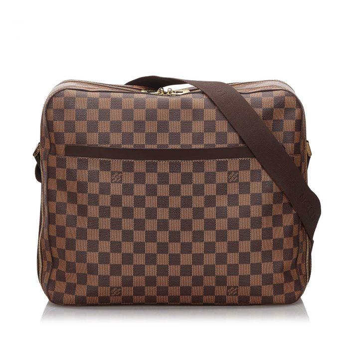 Image for Vintage Louis Vuitton Damier Ebene Dorsoduro Brown