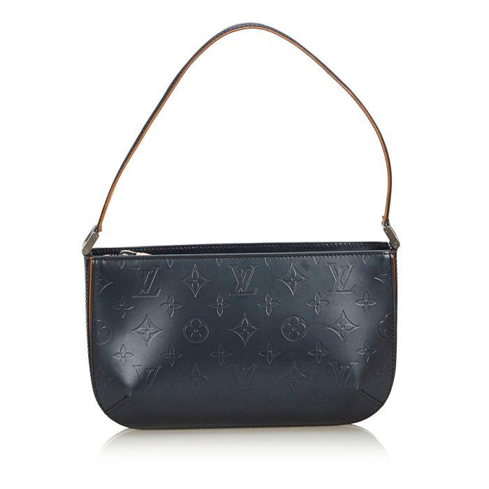 Image for Vintage Louis Vuitton Monogram Mat Fowler Blue