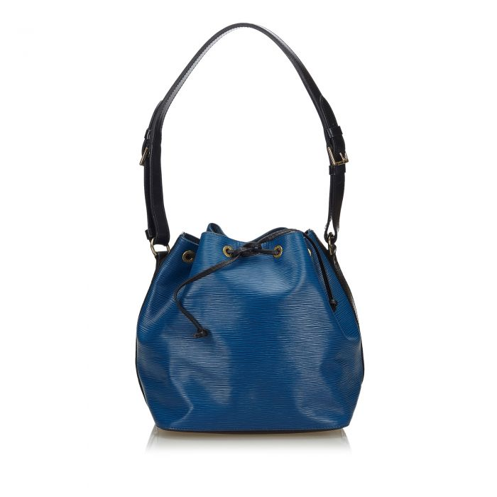 Image for Vintage Louis Vuitton Epi Bicolor Petit Noe Blue