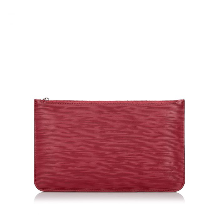 Image for Vintage Louis Vuitton Epi Pouch Red