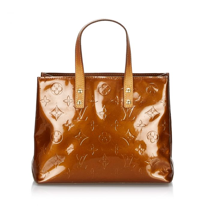 Image for Vintage Louis Vuitton Vernis Reade PM Brown
