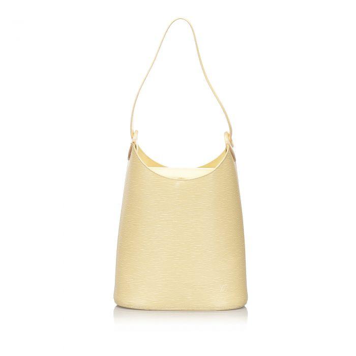 Image for Vintage Louis Vuitton Epi Sac Verseau White