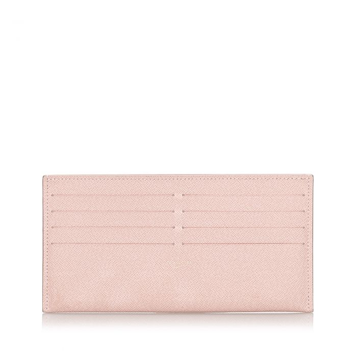 Image for Vintage Louis Vuitton Taiga Pochette Felicie Insert Pink
