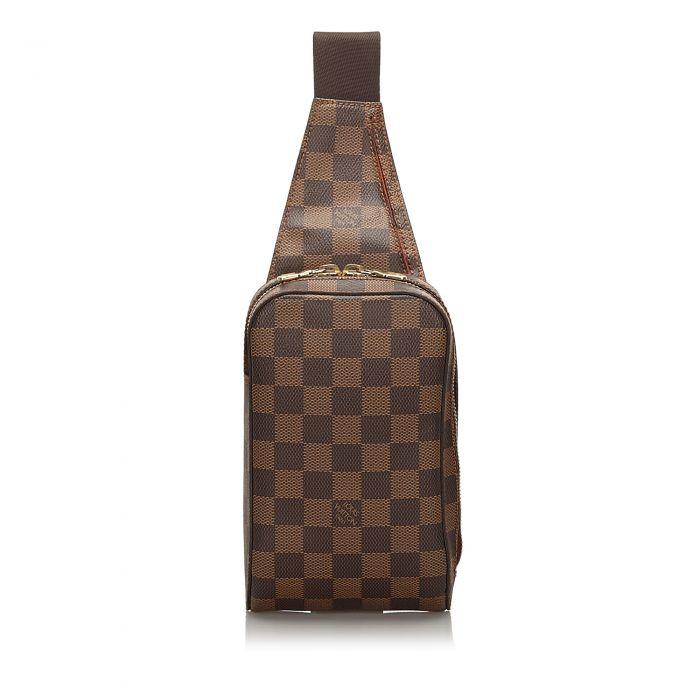 Image for Vintage Louis Vuitton Damier Ebene Geronimos Brown