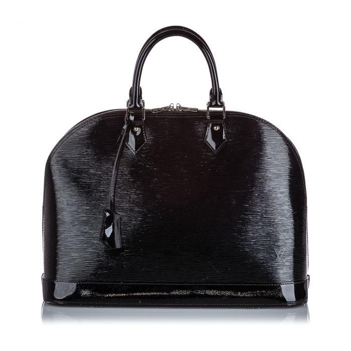 Image for Vintage Louis Vuitton Electric Epi Alma PM Black