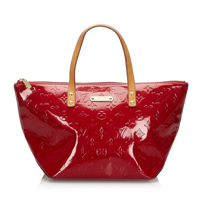 Image for Vintage Louis Vuitton Vernis Bellevue PM Red