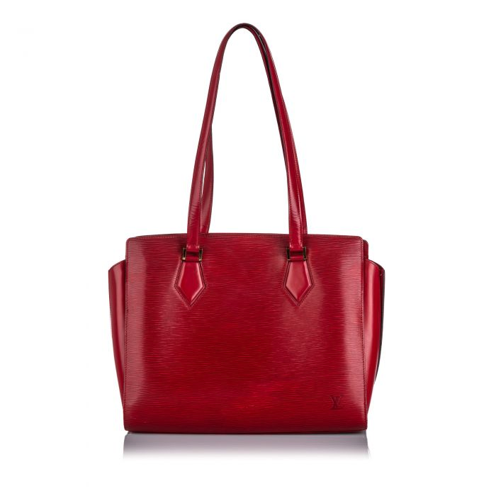 Image for Vintage Louis Vuitton Epi Duplex Red