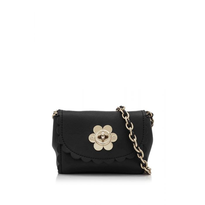 Image for Vintage Mulberry Grained Leather Lily Black