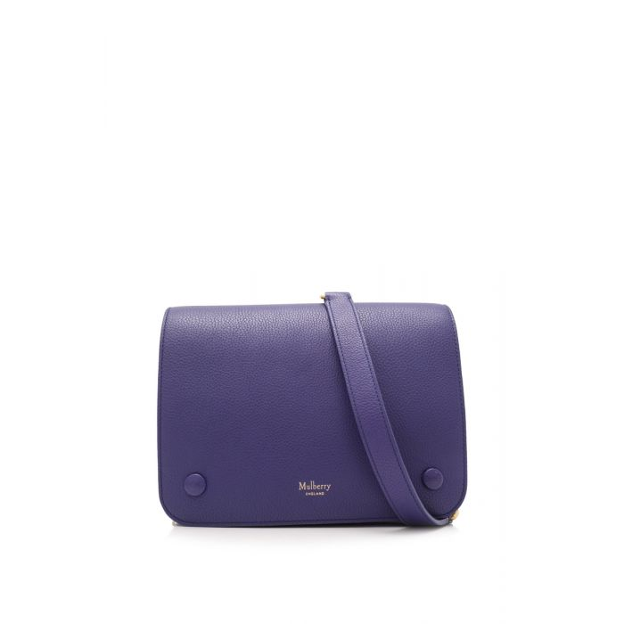 Image for Vintage Mulberry Leather Crossbody Bag Blue