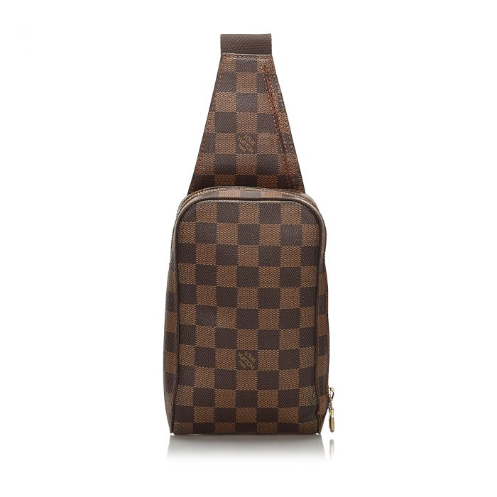Image for Vintage Louis Vuitton Damier Ebene Geronimos Brown