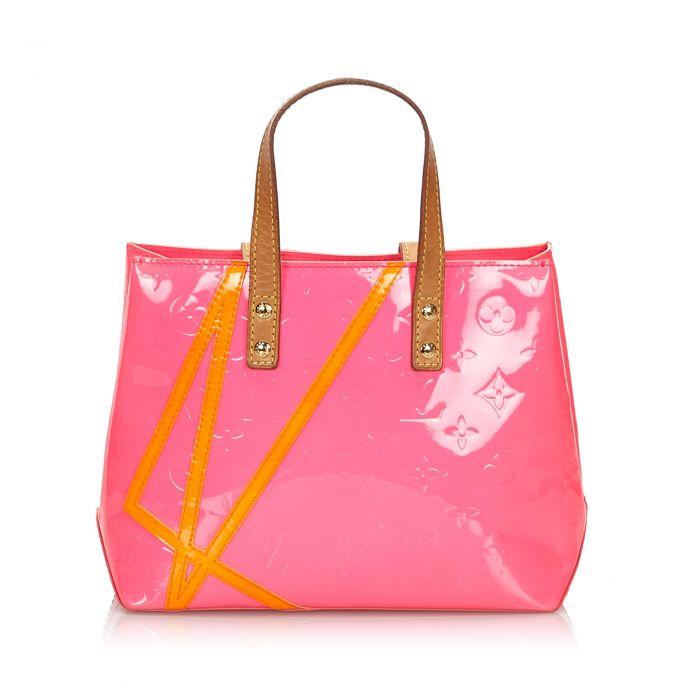 Image for Vintage Louis Vuitton Vernis Robert Wilson Reade PM Pink