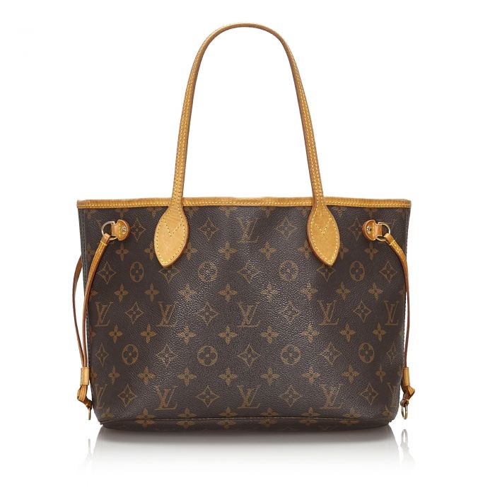 Image for Vintage Louis Vuitton Monogram Neverfull PM Brown
