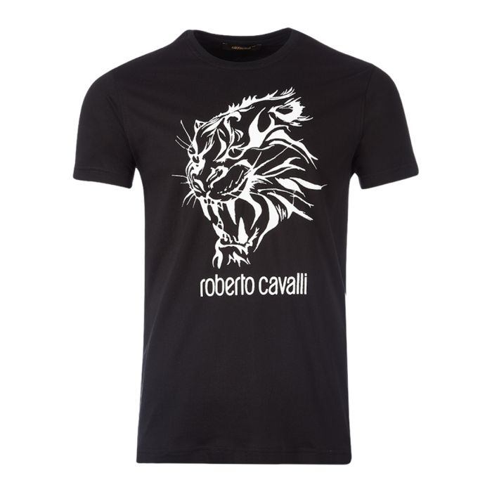 Image for Black graphic logo T-shirt