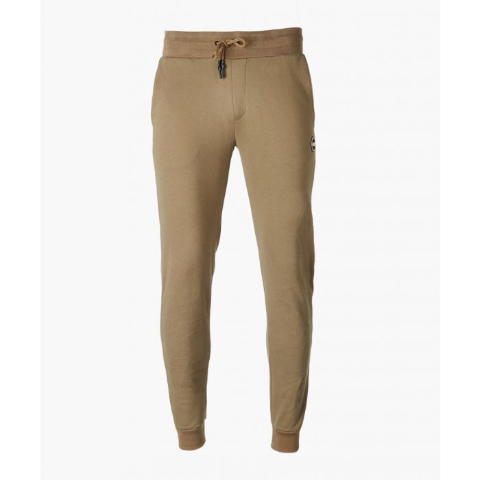 Image for Khaki pure cotton trousers