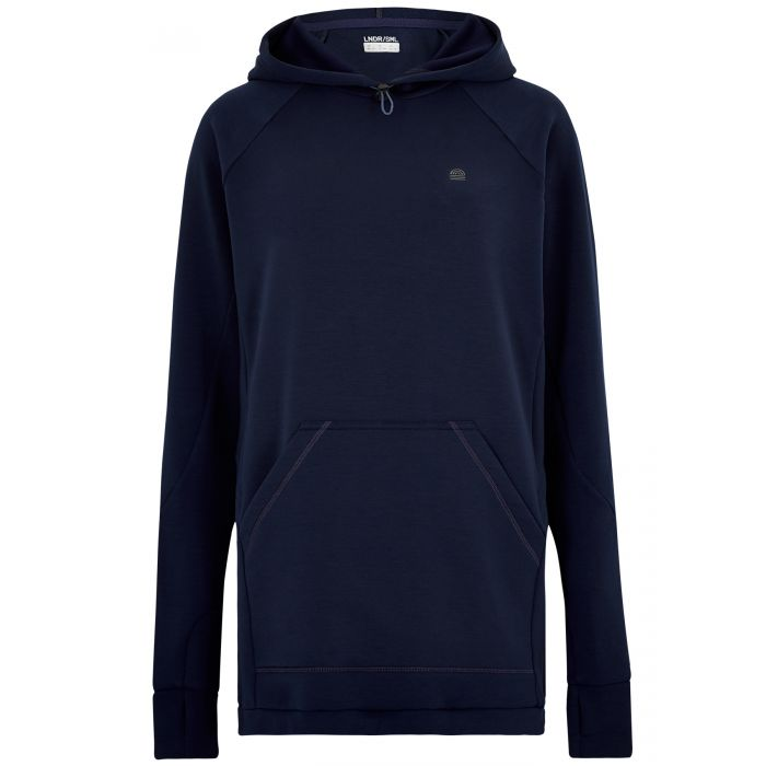 Image for Navy Smooth Tech Hoodie