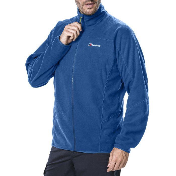 Image for Blue zip-up coat